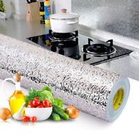 The Kitchen Wall Cooker Oil Proof Aluminum Foil Stickers Anti-fouling Stickers