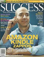 Success magazine Amazon Jeff Bezos Martina Navratilova David Heyman CD included