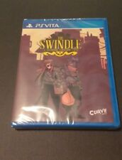 The Swindle (PlayStation Vita) Limited Run #41 NEW