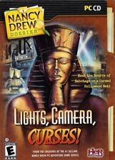 Nancy Drew Dossier LIGHTS CAMERA CURSES (PC Game) FREE US Shipping