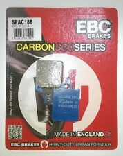 LML Star 150 / 151i (10 to 15 DISC MODEL) EBC Carbon FRONT Brake Pads (SFAC186)