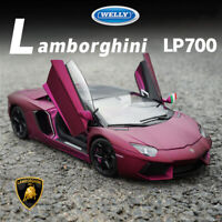 Welly 1:18 Diecast Model Lamborghini Aventador LP700-4 Super Sports Car