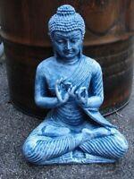 Buddha Budda Groß Statue Feng Shui Garten Figur Wetterfest Deko Tempelwächter BW