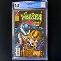 Venom Sinner Takes All #5 (1995) 💥 CGC 9.8 White Pgs 💥 Highest: 1 of 19! Comic