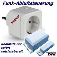 DIW DFS-1000 Funk-Abluftsteuerung Set - Weiß