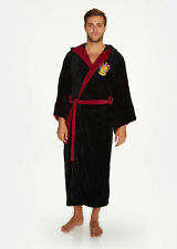 Harry Potter Hogwarts Gryffindor Wizard Fleece Dressing Gown Bathrobe