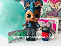 LOL Surprise SPARKLE PUNK BOY BABY GOLD BAMBOLA CONFETTI POP GLITTER QUEEN DOLL