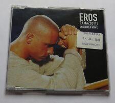 Eros RAMAZZOTTI-ONU Angelo non e PROMO CD con Info Sheet