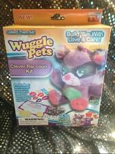 Wuggle Pets Clever Raccoon Kit As Seen ON TV Stuffed Animal Toys Backpack Clip