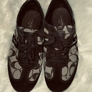 womens coach sneakers size 8