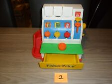 fisher price vintage with 1 coin -1994