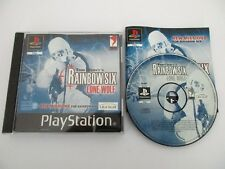 Tom Clancy's RAINBOW SIX LONE WOLF - SONY PLAYSTATION - Jeu PS1 Complet PAL Fr