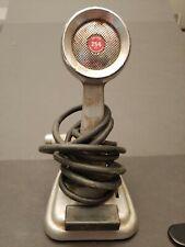 Vintage Turner Crystal 254 HI-Z Desk Microphone CB Ham Radio Untested