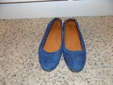 419c1f5f9b Isabel Marant Alexane Blue Suede Star Embellished Ballet Flats in Size  39/US 9