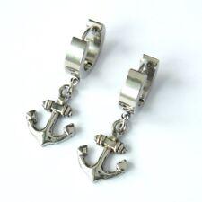 Anker Ohrringe maritim Seemann Edelstahl Ohrschmuck hochwertig anchor earrings