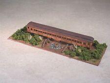 N Scale Railroad Trackside Abandon Diner Hobo Camp