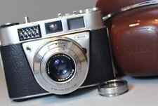 KODAK RETINETTE 1B 35mm CAMERA with RODENSTOCK REOMAR 45m f2.8 LENS + CASE