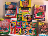 1986-88 Garbage Pail Kids Series 3-15 Wax Packs + Series 10,11,12,14,15 Boxes