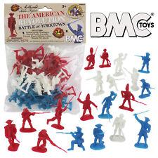 BMC REVOLUTIONARY WAR Plastic Army Men British American French Soldier Figures
