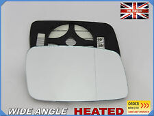 VOLVO s40 v40 1995-2004 Wing Mirror Glass Aspheric HEATED Right Side #P012