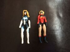 Marvel Universe Figure Lot Ms Marvel Short Hair Spider Woman Girl Black Rare HTF
