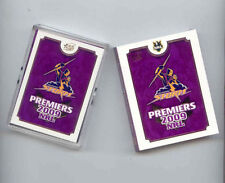 Melbourne Storm 2009 Season NRL & Rugby League Trading Cards