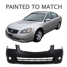 Painted to Match - Fits 2005 2006 Nissan Altima Front Bumper