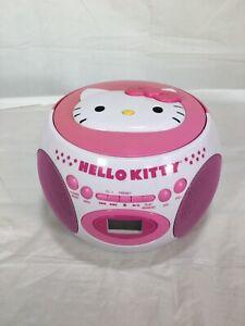 Hello Kitty Bluetooth CD Boombox With AM/FM Radio Kt2029bt