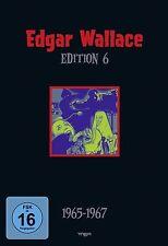 EDGAR WALLACE Edition 06 UNHEIMLICHE MÖNCH Bucklige Soho BLAUE HAND 4 DVD Box