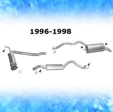 Auspuff VW T4 2.4 D 57 KW 4x4 Syncro SWB 1996-1998 Abgasanlage Komplett 0773
