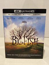 Big Fish (4K Disc, Blu-ray) Sealed New W/ Slipcover
