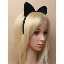Black Cat Headband Hair band with ears Fancy Dress dressing up Halloween party