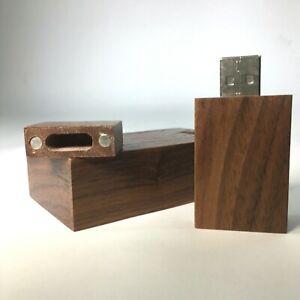 16GB Walnut Wood USB 2.0 Stick Flash Drive U Disk Data & Wooden Box