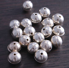 Sterling Silver Bench Made Beads 10mm (pack of 5 beads) DB4D