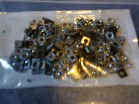 Part 37 = meccano square nuts bright - pack of 200 - from picture