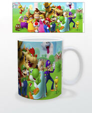 SUPER MARIO MUSHROOM KINGDOM 11 OZ MUG NINTENDO VIDEO GAMES CLASSIC NEW COFFEE!!