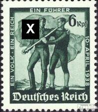 Duitse Rijk 663 Oostenrijkse Afdrukken postfris 1938 Referendum