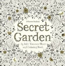 Secret Garden : An Inky Treasure Hunt and Coloring Book by Johanna Basford