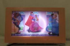 Disney Princesses Rotating Lamp Nightlight Cinderella Belle Beauty Snow RARE G