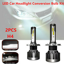 2PCS H4 LED Car Headlight Lamp Conversion Kit Bulb 110W 30000LM White Beam 6000K