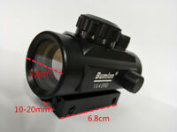 Tactical Hunting Holographic Reflex Laser Red Illuminated Dot Sight Scope