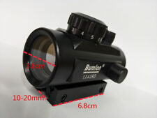 Bumlon 1x40RD Holographic illuminated Red Dot Point Sight Rifle Scope Sights