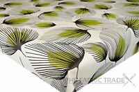 Patisserie /& Macrons Green PVC Tablecloth Vinyl Oilcloth Kitchen Dining Table