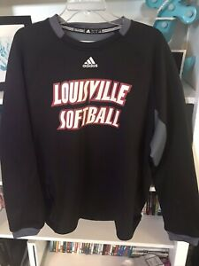 Women's University Of Louisville Softball Sweatshirt Size Large