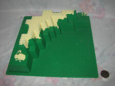 Lego Base Plate part 30473px1 32x32 Foothill with Tan/Dirt Pattern Set  4291-1