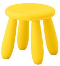 IKEA MAMMUT Kinderhocker Hocker in Gelb für drinnen und draußen Neu OVP