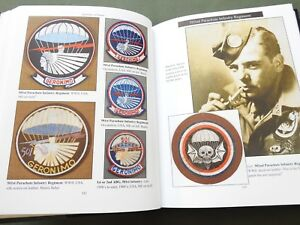 """""""EMBLEMS OF HONOR AIRBORNE"""" US WW2 PARATROOPER PATCH BADGE WINGS REFERENCE BOOK"""