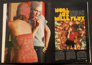 'MON OUVRAGE' FRENCH VINTAGE MAGAZINE PATTERN CHRISTMAS ISSUE DECEMBER 1973