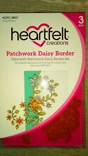 Heartfelt Creations Patchwork Daisy Border Stamps HCPC-3853 New £17. 50 Free P&p