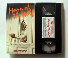 VHS: Moon of the Wolf: Worldvision: David Janssen: horror rare